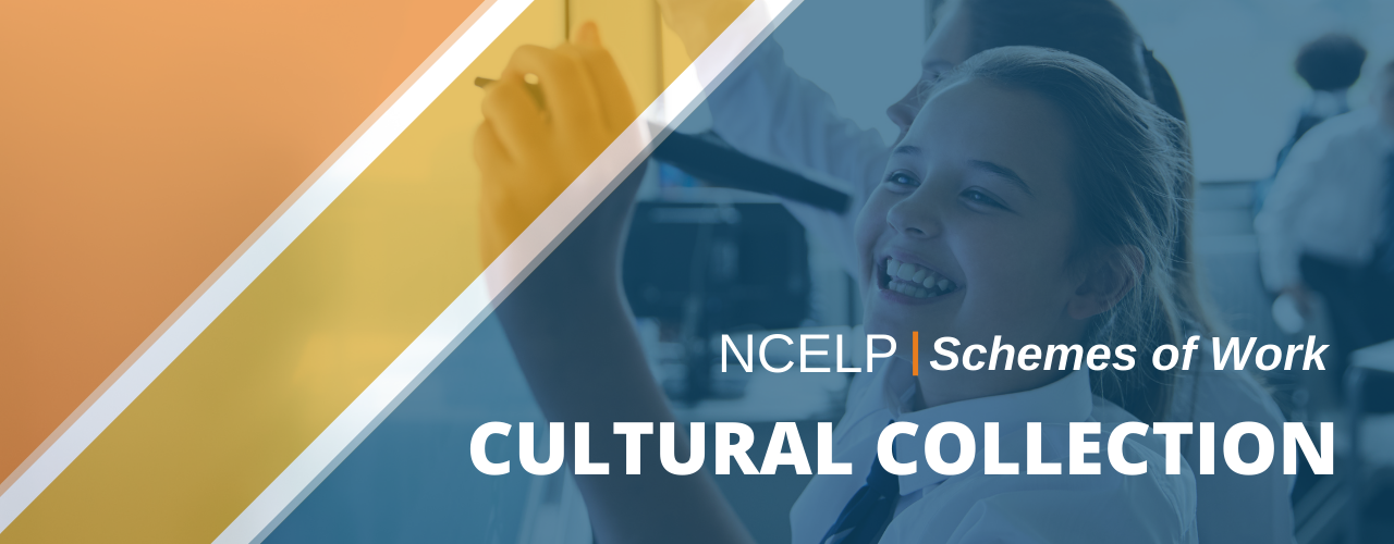 Image with text: NCELP Schemes of Work Cultural Collection