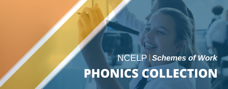 Image with text: NCELP Schemes of Work Phonics Collection