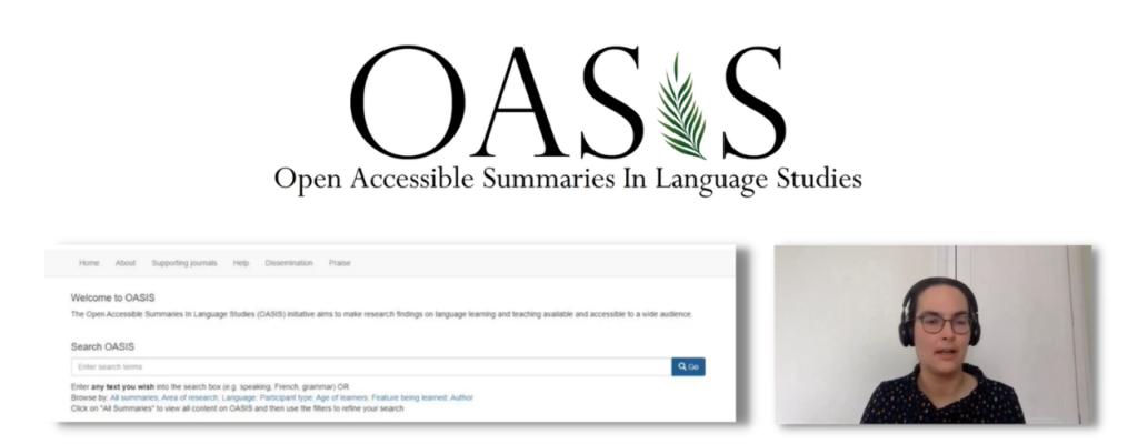 Image of Inge Alferink and OASIS database